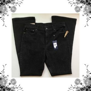 {Polo by Ralph Lauren} Black Rinse Flare Jeans